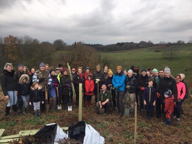Read more about the article Tree Planting at Horse's Wood